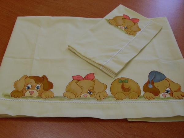 Muestras de s banas de beb pintando en tela - Dibujos infantiles para pintar en tela ...